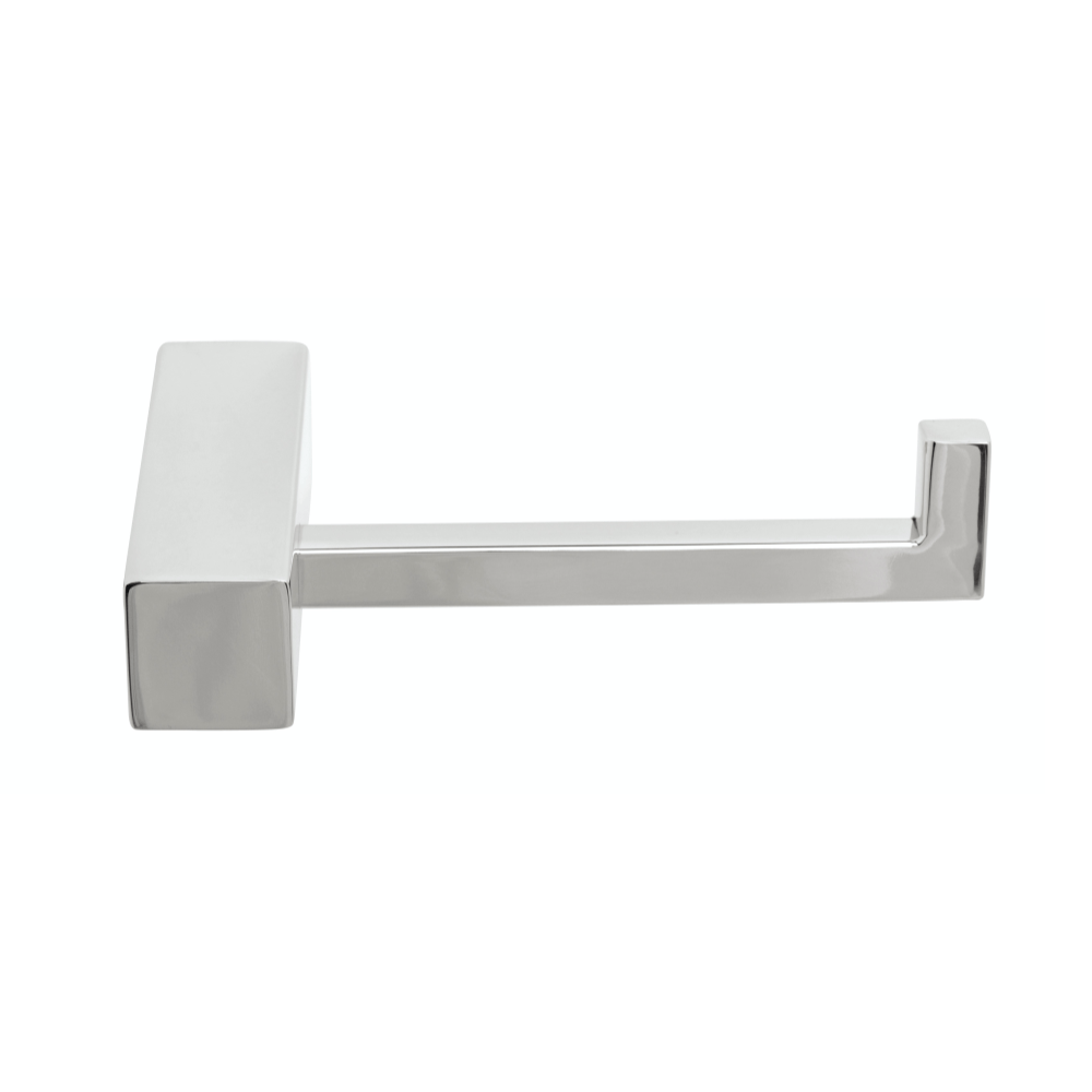 Tranquillity Square Toilet Roll Holder | Chrome