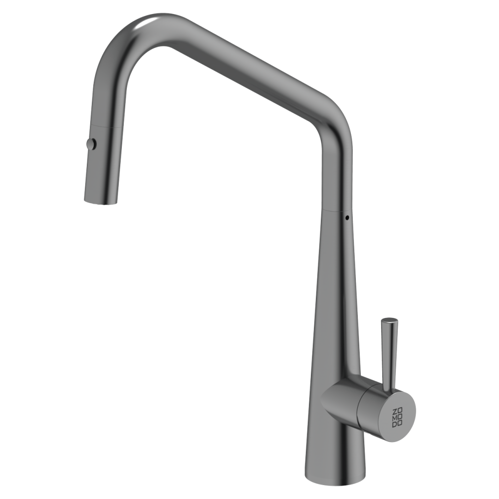 Burns & Ferrall PearlArc Orizuro Kitchen Mixer with Pull Out Spray | Sonic Grey
