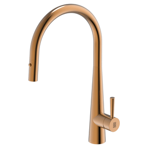 Burns & Ferrall PearlArc Cignus Kitchen Mixer with Pull Out Spray | Rio Bronze