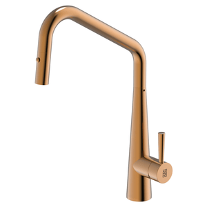 Burns & Ferrall PearlArc Orizuro Kitchen Mixer with Pull Out Spray | Rio Bronze