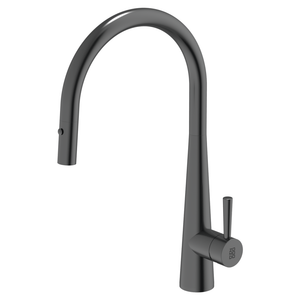 Burns & Ferrall PearlArc Cignus Kitchen Mixer with Pull Out Spray | Black Pearl