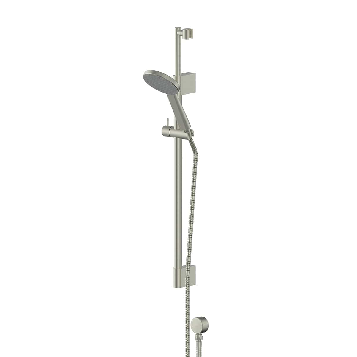 Greens Glide RainBoost Telescopic Rail Shower | Brushed Nickel