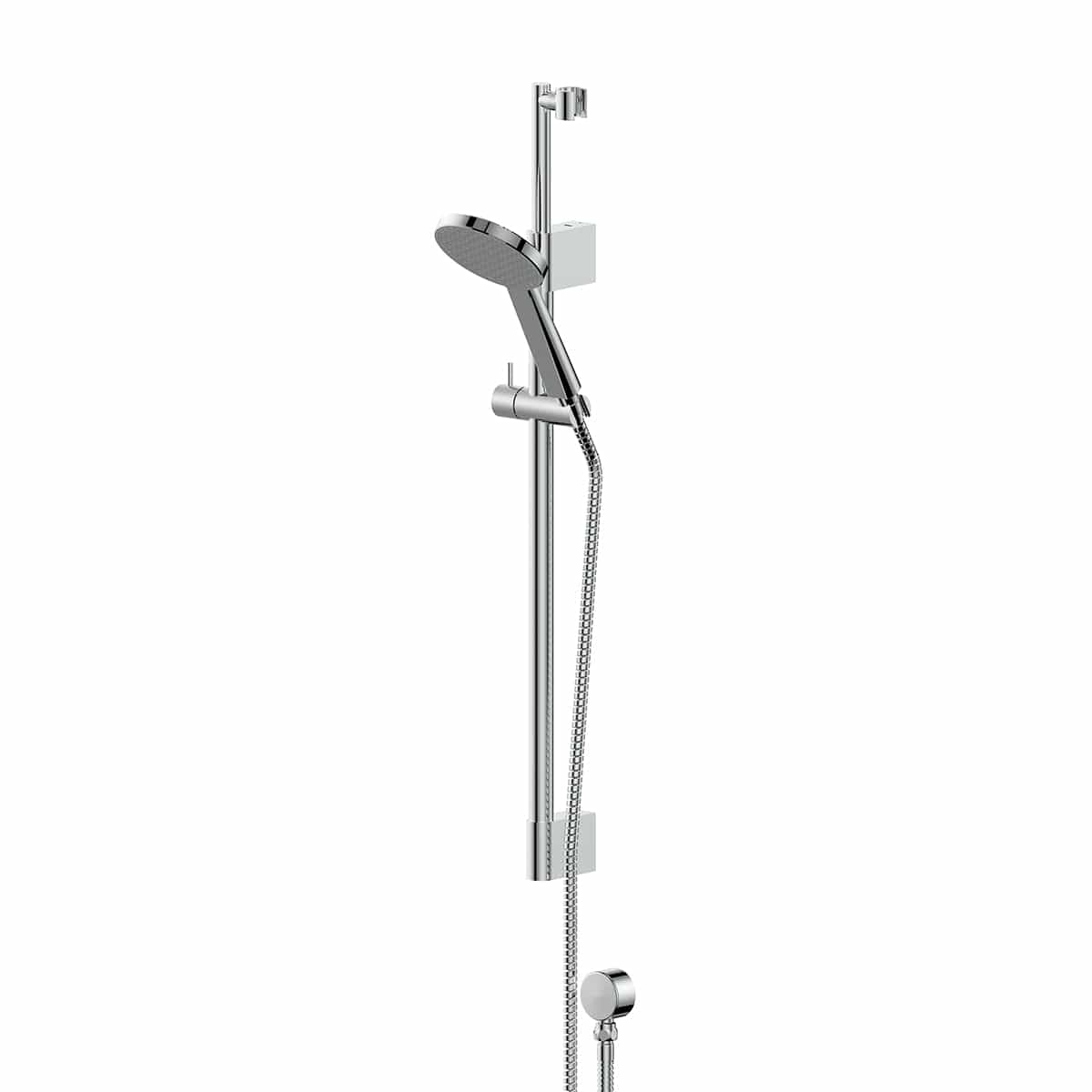 Greens Glide RainBoost Telescopic Rail Shower | Chrome