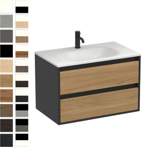 Prava Spio 750mm 2 Drawer Vanity
