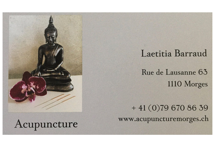 Acupuncture Morges