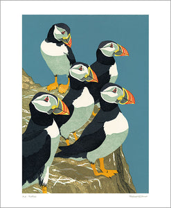 Art Angels - Gillmor Puffins