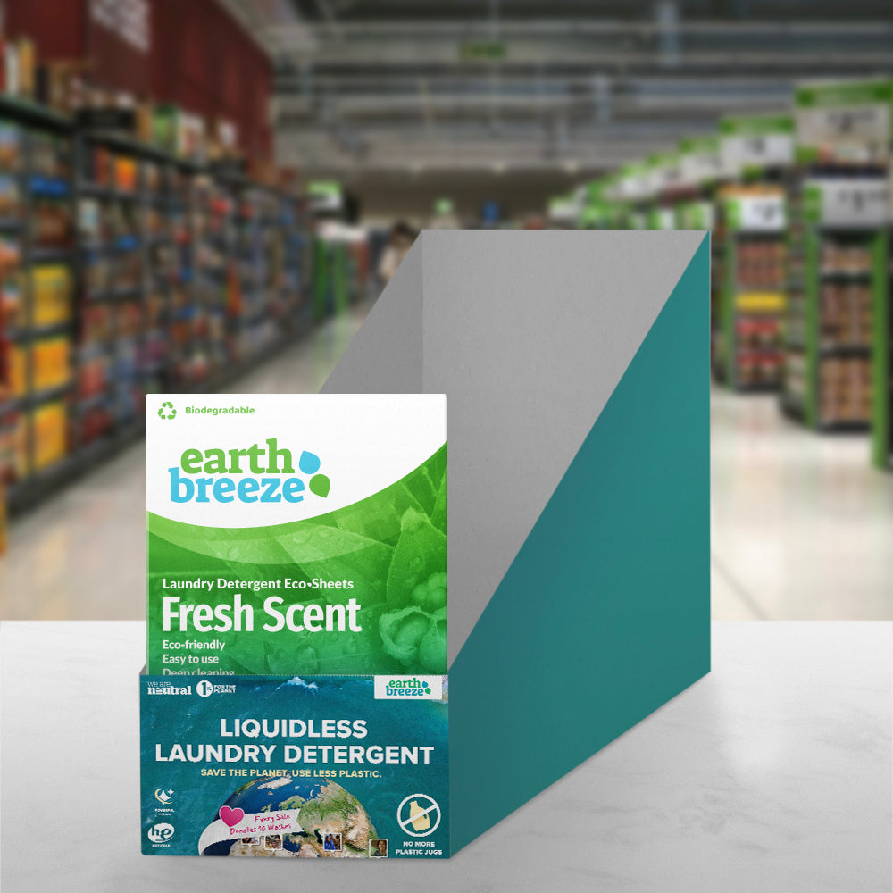 Earth Breeze Retail Stand