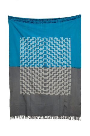 Cerulean Horizon Throw