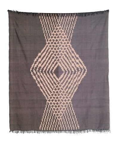 Midnight Blush Throw