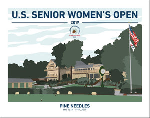 2019 U.S. Senior Women's Open Print