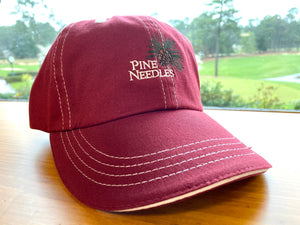 Pine Needles Contrast Cotton Cap