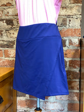 Load image into Gallery viewer, Faux Wrap Skort - Navy