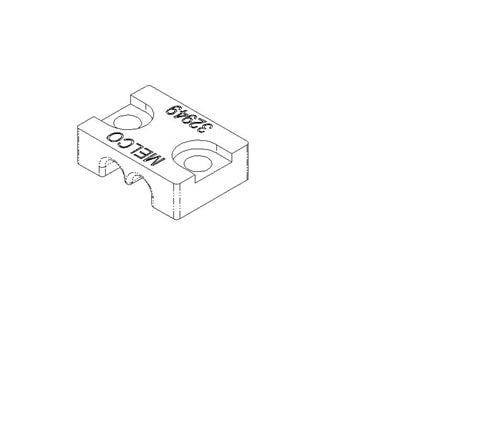 32949-01 CLAMP, CABLE, TRIMMER DRIVE