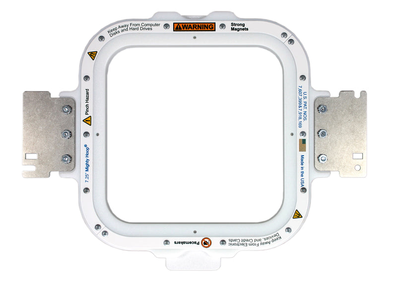 Mighty Hoop-Square 7.25""