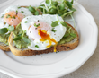 Eggs on Toast with Salmon
