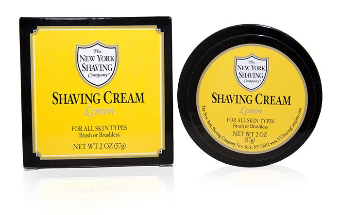 Lemon Shaving Cream - 2.5 oz