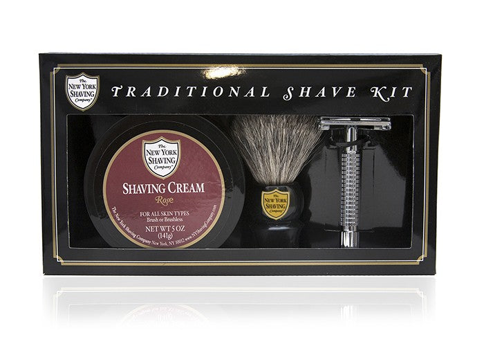 Rose Traditional Shave Kit