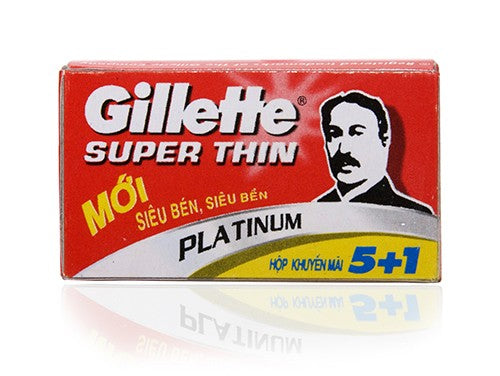 Gillette Super Thin Razor Blades