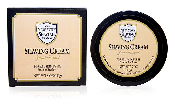 Sandalwood Shaving Cream - 5 oz
