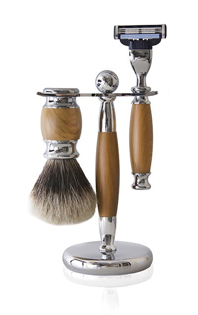 Mach 3 Beachwood Shaving Set