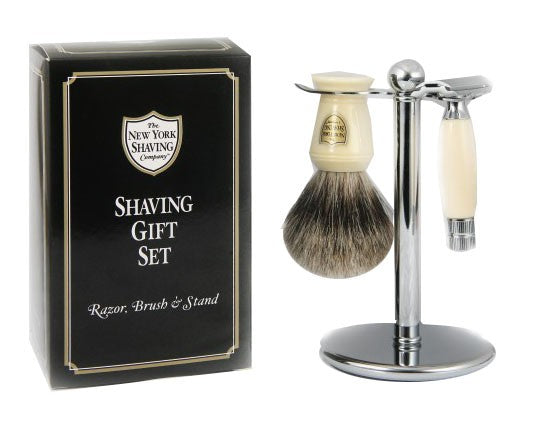 Ivory Stout Shaving Set