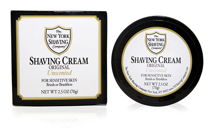 Original Unscented Shaving Cream - 2.5 oz
