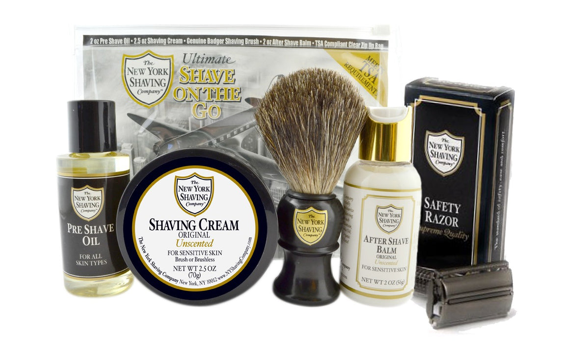 Ultimate Shave On the Go w- Safety Razor