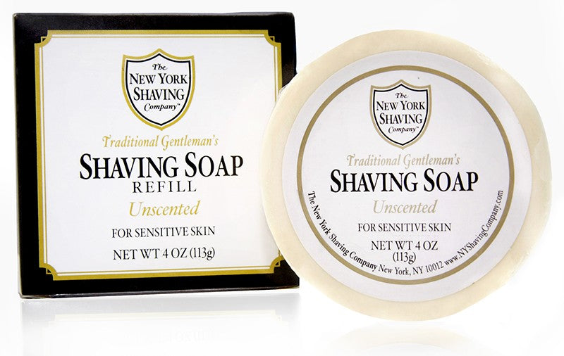 Unscented Shaving Soap Refill - 4 oz