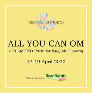 ALL YOU CAN OM (Unlimited pass for English Classes)