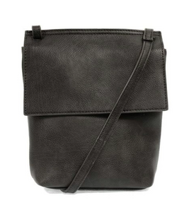 Aimee Front Flap Xbody - CHARCOAL