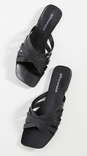 Load image into Gallery viewer, Amarra Flat Sandal - BLACK