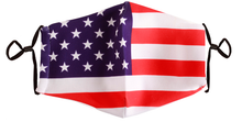 Load image into Gallery viewer, American Flag Mask - FLAG