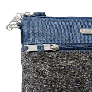 Antitheft Slim Crossbody - STEELBLU