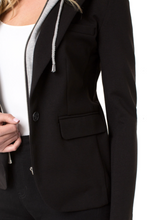 Load image into Gallery viewer, Bf Blazer W/Removable Hood - BLACK