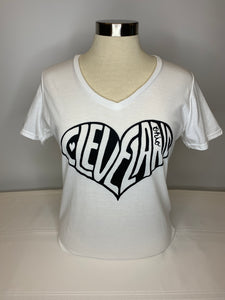Plum City Designs - CLE Heart S/S Tee