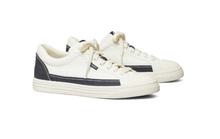 Load image into Gallery viewer, CLASSIC COURT SNEAKER - IVORY/NAVY