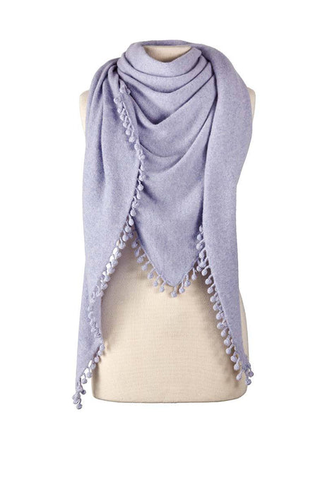 Cashmere Wrap - HEATHER