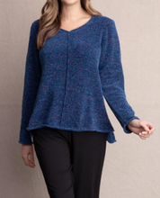 Load image into Gallery viewer, Chenille Roll Neck Pullover - DENIM