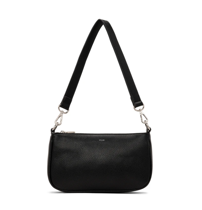 Chloe Shoulder Crossbody - BLACK