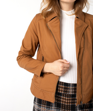 Load image into Gallery viewer, Clean Asym Zip Moto Jacket - TUS YELL