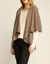 Load image into Gallery viewer, Convertible Shawl Vest - TAUPE