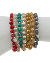 Load image into Gallery viewer, Accessorizit - Beaded Bracelet