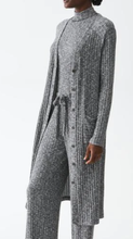 Load image into Gallery viewer, Ella V-Neck Long Cardigan - HEATHER GREY