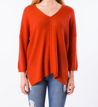 Load image into Gallery viewer, Falcon Tunic Sweater - FLAME