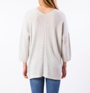 Falcon Tunic Sweater - LT SMOKE