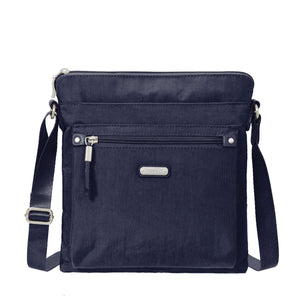 Go Bag with rfid Phone Wristlet - NAVY