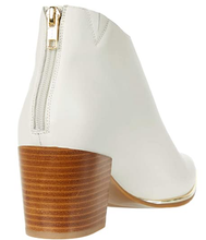 Load image into Gallery viewer, Gold Toe Plate Bootie - LATTE