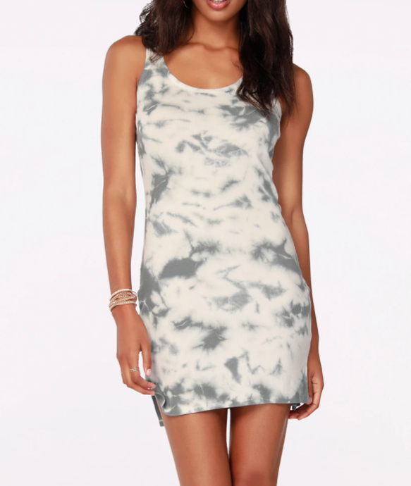 Hi-Low Tank Dress - OVERCAST