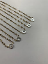 Load image into Gallery viewer, Initial Necklace-2Tone Reverse