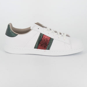 Inspired Stripe Lace Up - VERDE